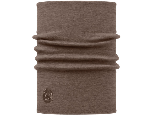 Buff Heavyweight Merino Wool Kaulaliina, solid walnut brown